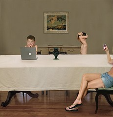Julie Blackmon: The Babysitter, 2006