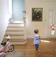 Julie Blackmon: New Baby, 2006