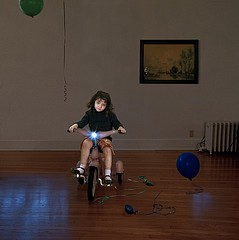 Julie Blackmon: Birthday Girl, 2005