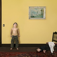 Julie Blackmon: Blood, 2008