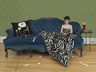 Julie Blackmon: Sick Boy, 2008