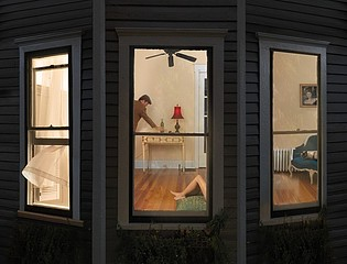 Julie Blackmon: Night Windows