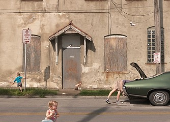 Julie Blackmon: Loading Zone