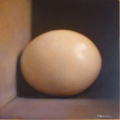 Kate Breakey: Still Life with Ostrich Egg