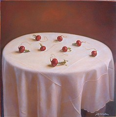 Kate Breakey: Still Life with Eight Radishes