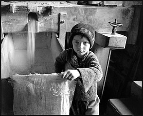 Kathleen Laraia McLaughlin: The Miller's Boy, Sarbi, Romania, 1999