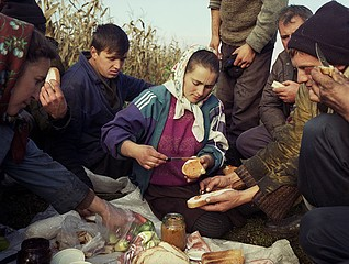 Kathleen Laraia McLaughlin: Lunch Break, Satu Mare, 2003