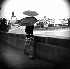 Keith Carter: Two Umbrellas, 2001