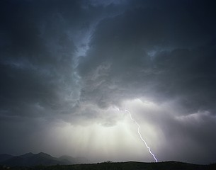 Kevin Erskine: Monsoon Storm, Patagonia, Arizona, 2012