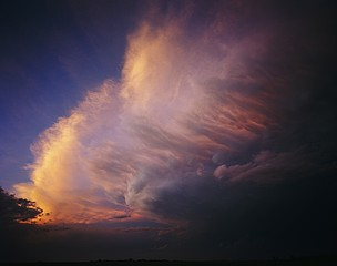 Kevin Erskine: Storm, Pampa, Texas, 2012