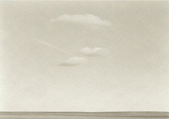 Kevin O'Connell: Three Clouds and Jet Trail, 1997