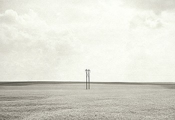 Kevin O'Connell: Electric Pole near Wiggins, Co, 1998