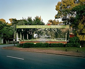Kyle Ford: Darby Bank Billboard, Savannah, GA, 2008