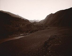 Linda Connor: Dark Landscape, Indus, India, 1998