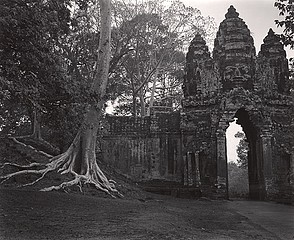 Elvira Piedra: Dawn, South Gate, Angkor, Cambodia, 2002