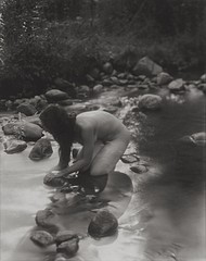 Elvira Piedra: In the River, El Rito, 1998