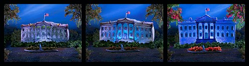Liz Hickok: The First 100 Days (the White House in Jell-O), 2009
