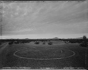 Mark Klett: Turn-Radius Intaglio, Kofa Range, Arizona, 1987