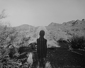 Mark Klett: Watching the Children Play, Gila Bend Mountains, 1997