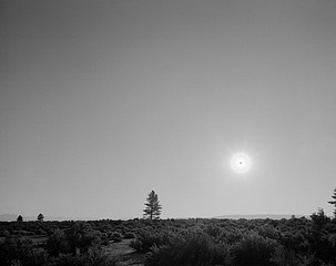 Mark Klett: Black Sun, Mono Lake, CA 6/25/03