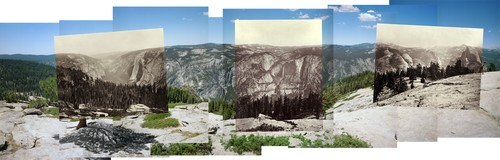 Mark Klett: Mark Klett and Byron Wolfe, Panorama from Sentinel Dome, 2003