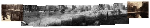 Mark Klett: Mark Klett and Byron Wolfe, Panorama of a Ghost River, 2001