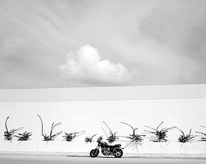 Mark Surloff: Motorcycle and Cloud