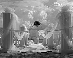 Mark Surloff: Beach Wedding Scene1, 2004
