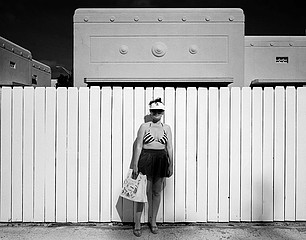 Mark Surloff: Woman and Fence