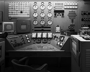 Martin Miller: Control Console, B Reactor, Hanford Site 1945, 2008