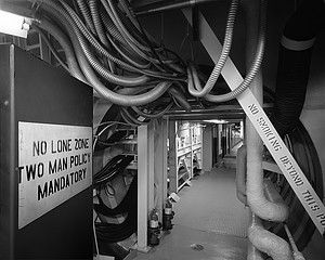 Martin Miller: Titan II ICBM Cableway from Control Room to Missile Duct 1963, 2008