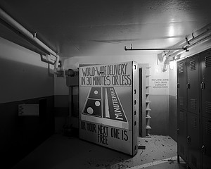 Martin Miller: Blast Door Art, Minuteman II ICBM Launch Control Center 1965, 2008