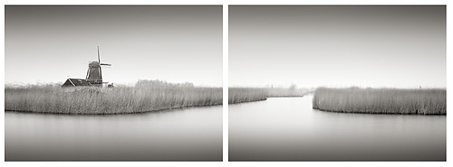 Michael Levin: Canal Ring (diptych), 2007