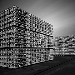 Michael Levin: Stacked Pallets, 2009