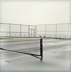 Michael Matsil: Wet Tennis Court