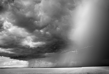 Mitch Dobrowner: Storm in Field, 2010