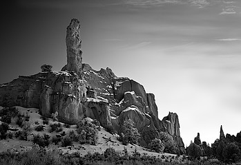 Mitch Dobrowner: Chimney Rock, 2010