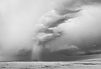 Mitch Dobrowner: Pillar Cloud: Lewistown, Montana, 2011