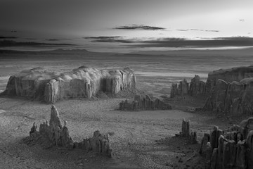 Mitch Dobrowner: Sunrise Over Spires, 2014