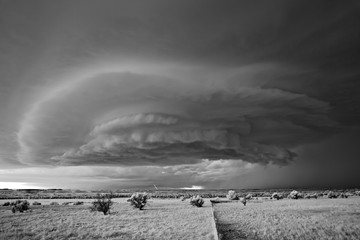 Mitch Dobrowner: Sister Storms and Lightning, 2015