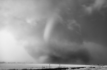 Mitch Dobrowner: Tornado in Rain, 2016