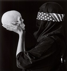Patti Levey: Death of Democracy, 2003