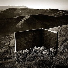 Peter Merts: Concrete Corner -- Marin Headlands, California, 2000