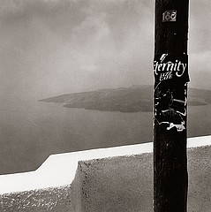 Peter Merts: Infinity Jazz  Cafe -- Thira, Greece, 1991
