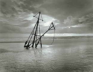 Peter Merts: Buried Shrimp Boat, 2003