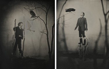 Photo Objects & Small Prints: Curtis Wehrfritz, He Speaks With the Raven First As A Boy, Then As a Man