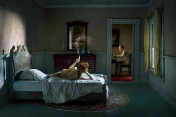 Richard Tuschman: Pink Bedroom (Odalisque), 2013