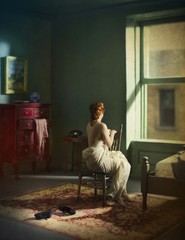 Richard Tuschman: Green Bedroom (Morning), 2013