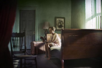 Richard Tuschman: Woman Reading, 2013
