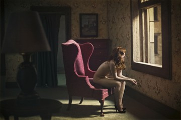 Richard Tuschman: Woman at Window, 2013